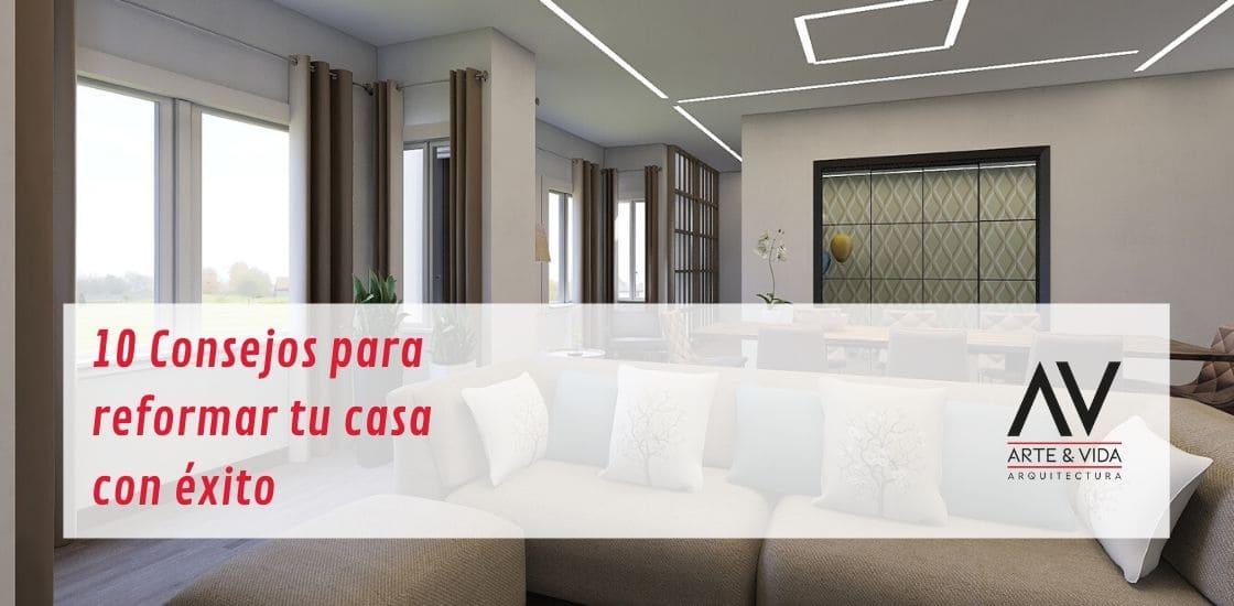 10 consejos para reformar tu casa
