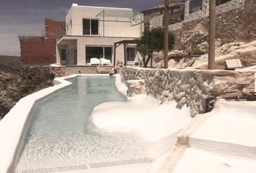 Construcción de una casa en Zafra