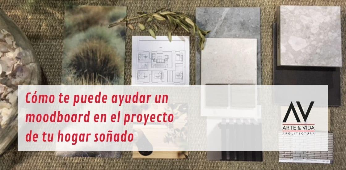 Moodboard para proyecto de vivienda