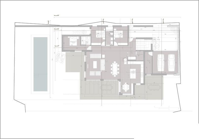 Planos de casas de una planta Cobeña
