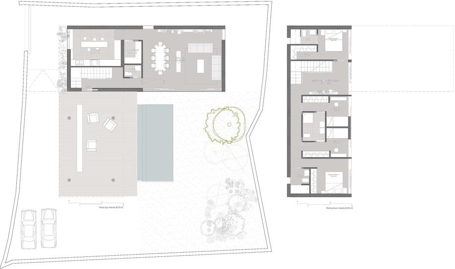 Planos de casas de una planta Cobeña El Alamo