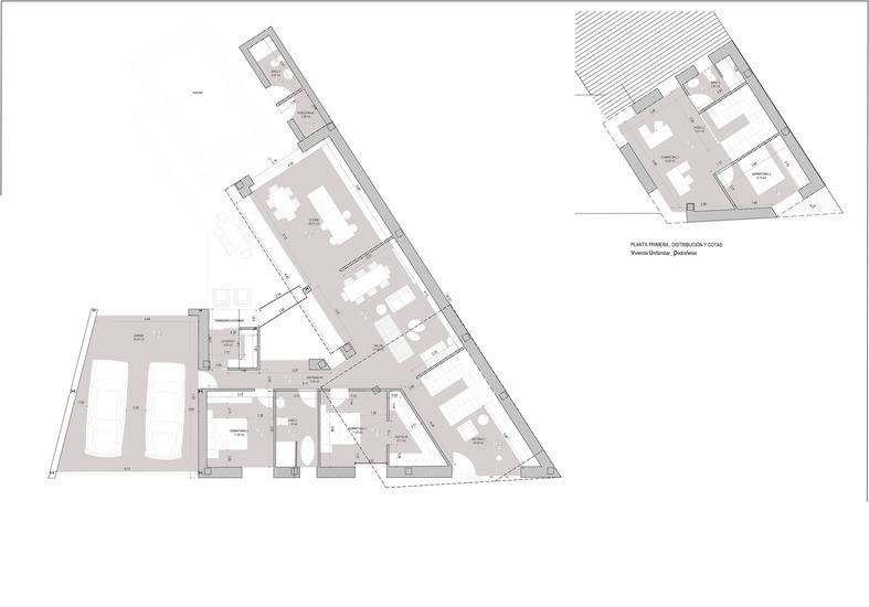 Planos de casas de una planta Pedroñeras