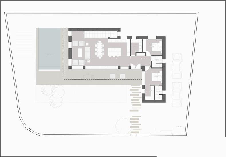 Planos de casas de una planta Chiloeches