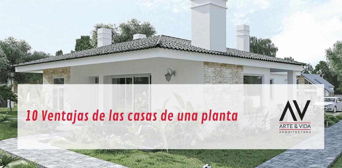 Casas de una planta