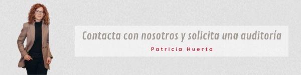 Solicita una consultoría con Patricia Huerta, para valorar tu caso concreto